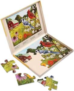 13 Piece Jigsaw Puzzle - Summer Birds