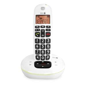 Doro PhoneEasy 105WR Cordless Telephone with Answering Machine