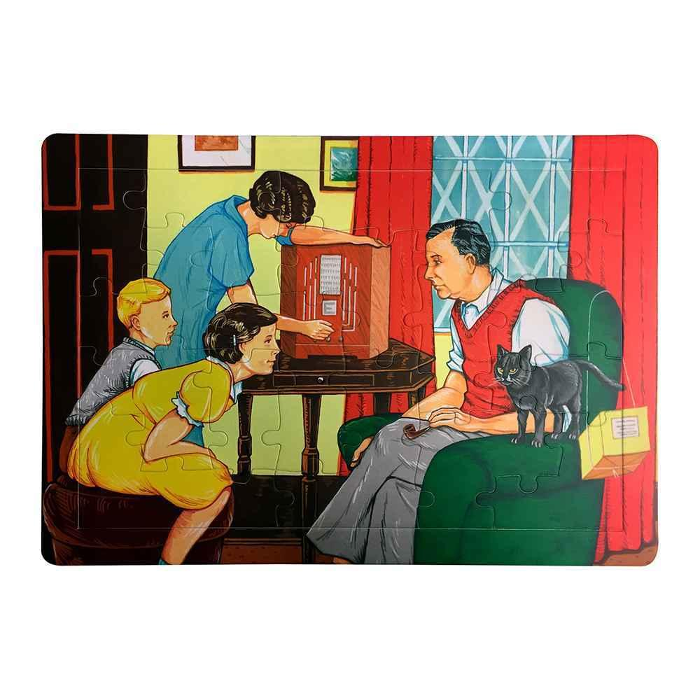 Retro Jigsaw Puzzles by Les Ives - Family