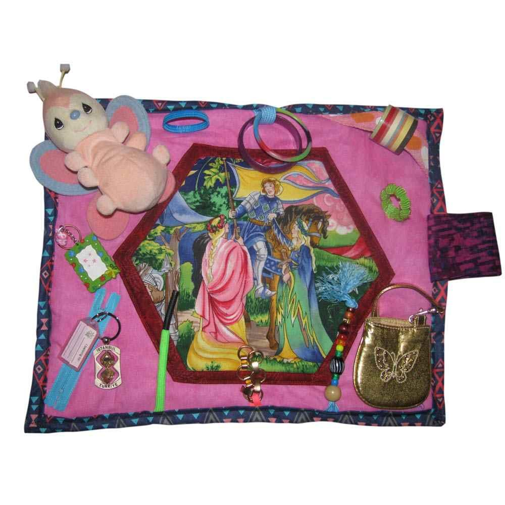 BuzyBlanket - Picture, Butterfly & Purse