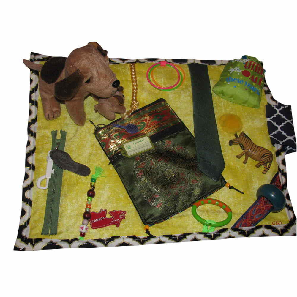 BuzyBlanket - Dogs, Purse & Keyrings