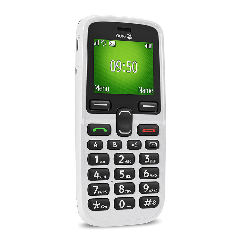 Doro 5030 Mobile Phone in White