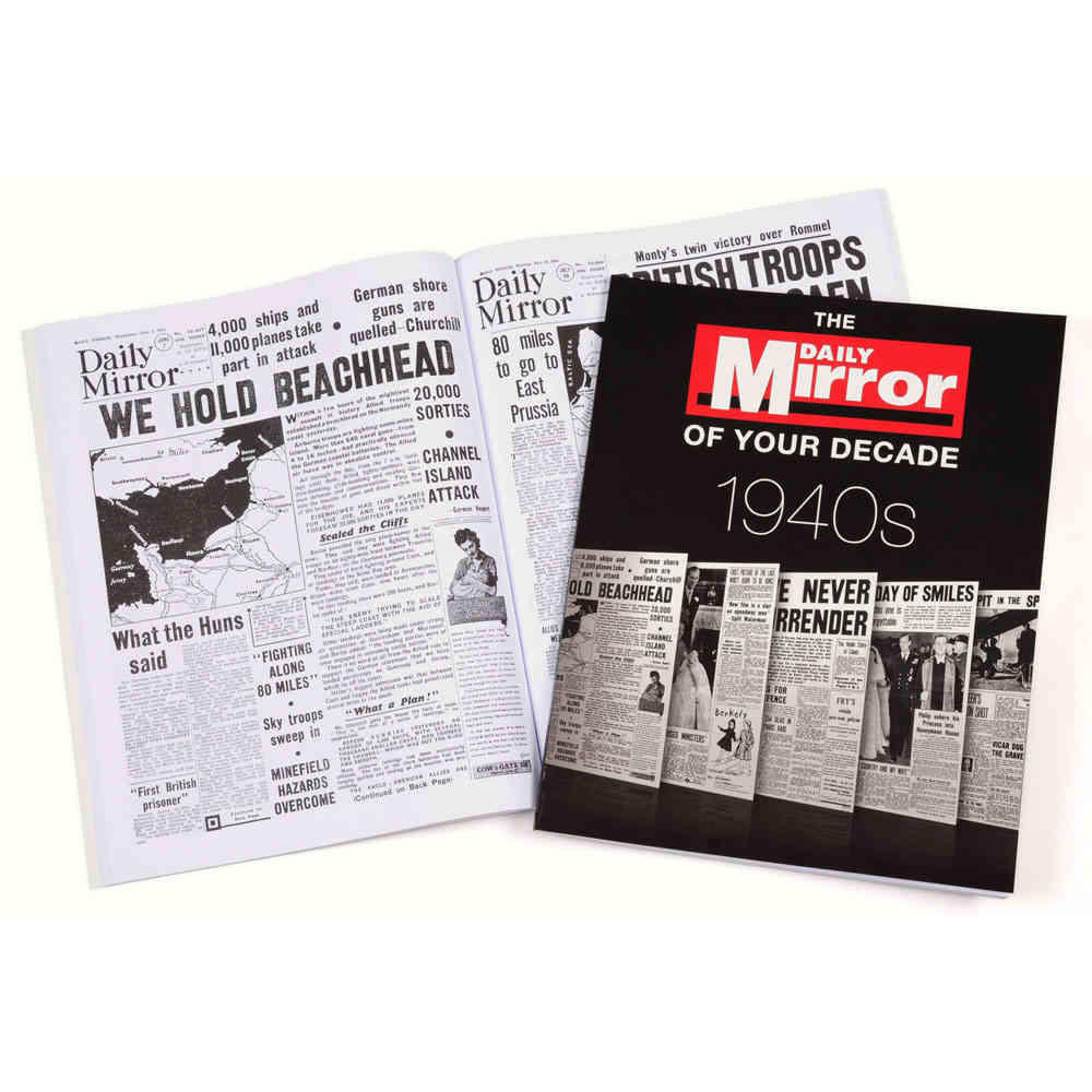 Daily mirror 1940s cover