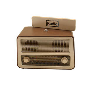 Radio with cover off
