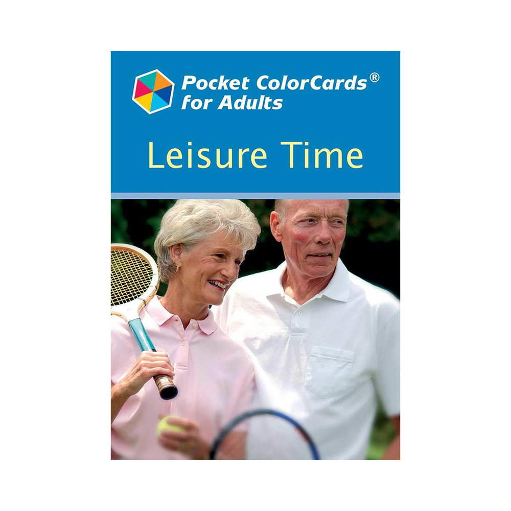 Pocket ColorCards for Adults - Leisure Time