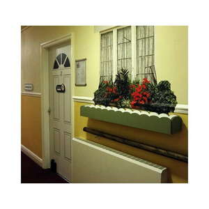 Window box in corridor