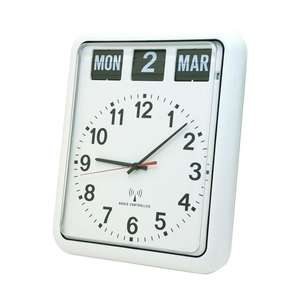 Radio Controlled Calendar Clock