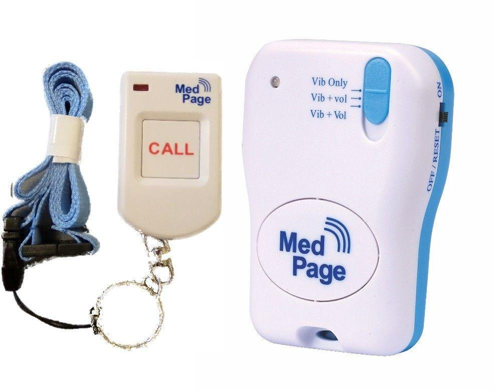 Fob Alarm Pendant Transmitter with MPPL Pager - Complete Kit