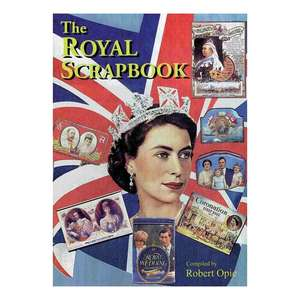 Royal scrapbook cover