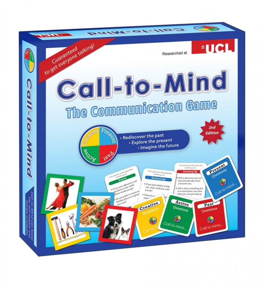 Board game in retail packaging