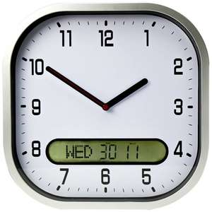 Day-Date Wall Clock