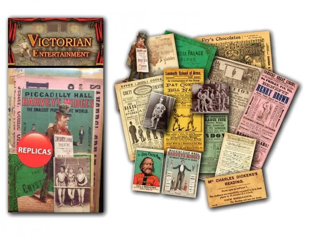 Memorabilia Pack - Victorian Entertainment