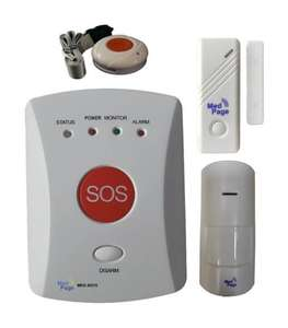 Home Care GSM SOS Emergency Dialler Kit