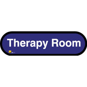 Therapy Room Sign inBlue