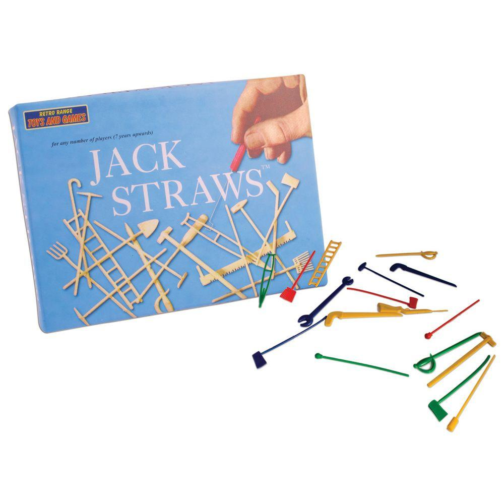 Jack Straws Retro Board Game