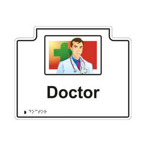 Doctor Sign - Illustrated