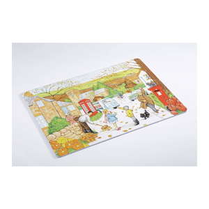 Retro Jigsaw Puzzles with 16 Pieces - Four Seasons