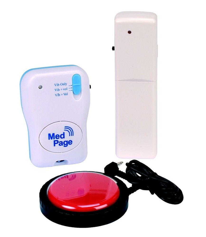 Help Call Easy Press Jelly Switch with MPPL Pager - Complete Kit