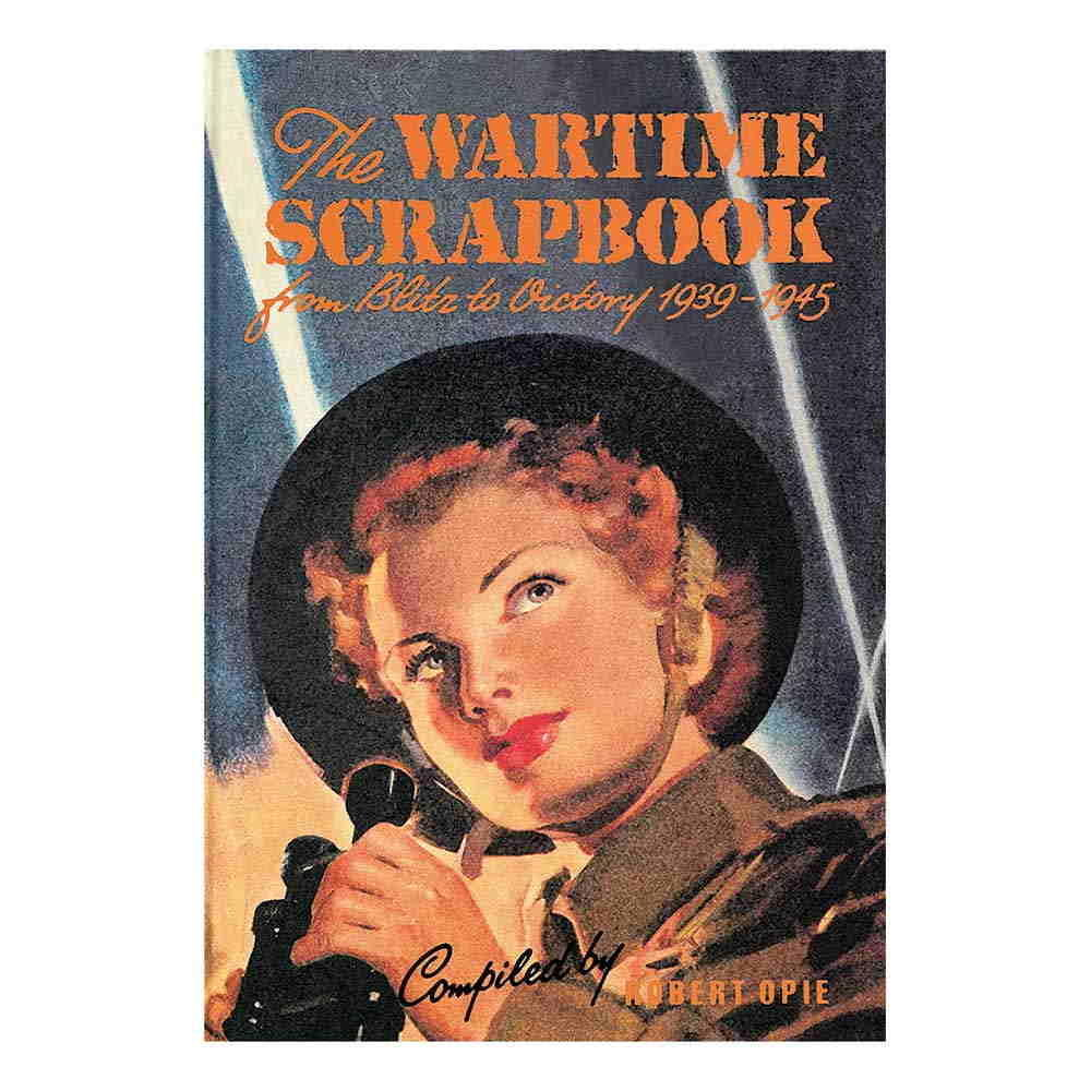 Scrapbook 1940s wartime cover