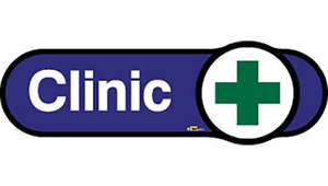 Clinic Sign in Blue