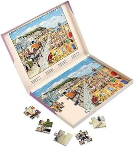 Jigsaw Puzzles 35 Piece - Seaside Nostalgia