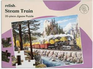 Jigsaw Puzzles 35 Piece - Steam Train
