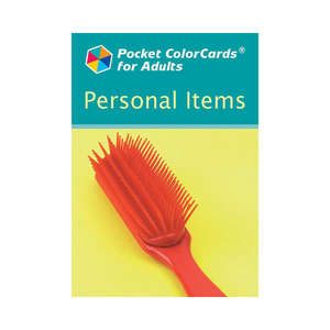 Pocket ColorCards for Adults - Personal Items