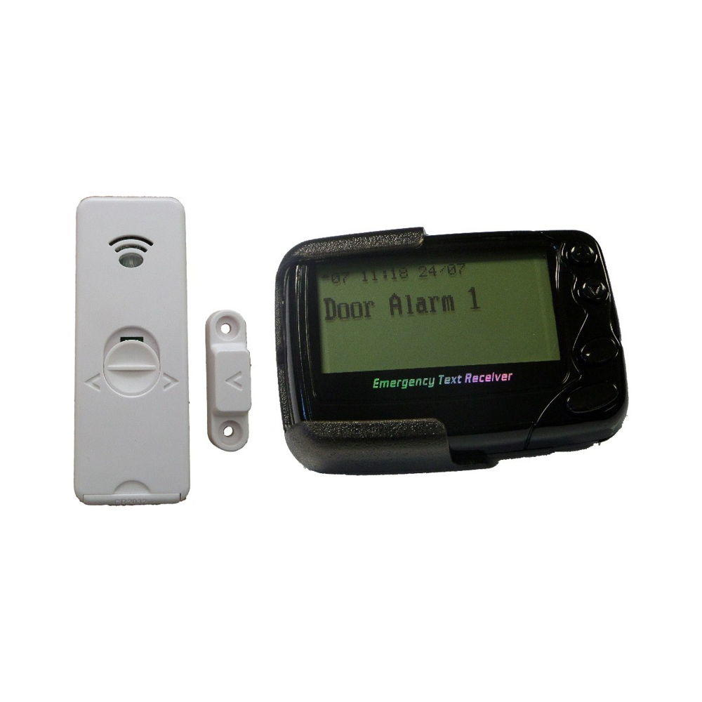 Long Range Door Transmitter & Pager - Complete POCSAG Kit