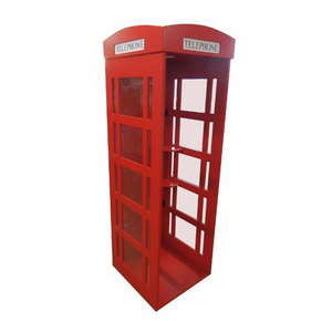 Red Telephone Box for Indoor Use