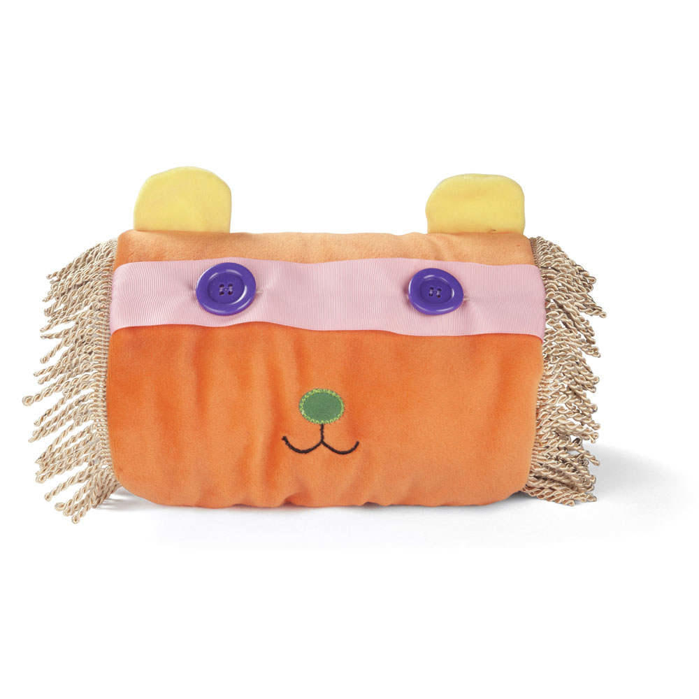 Fiddle Muff Comforter - Orange Friendly Lion