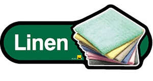 Linen Sign inGreen
