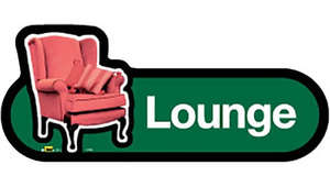Lounge Sign in Green