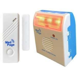 Wireless Flashing Light Door Alarm