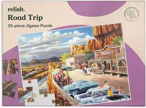 Jigsaw Puzzles 35 Piece - Road Trip