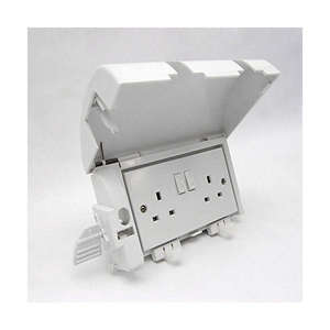 Lockable Plug Cover for Double Sockets