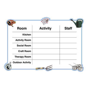 Activity Schedule Board