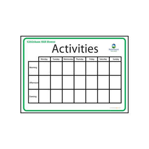 Activity Board Type 1
