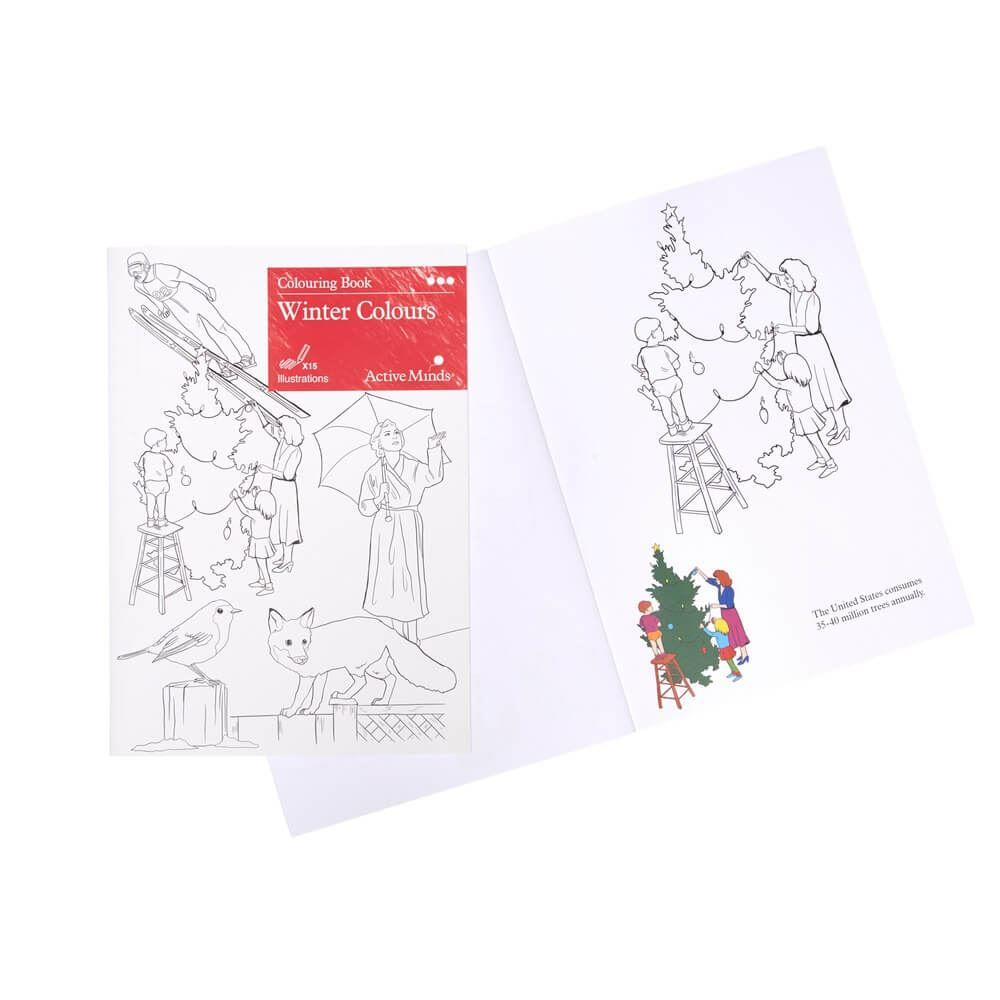 Colouring Book - Winter Colours