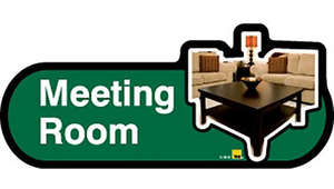 Meeting Room Sign inGreen