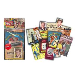 Memorabilia Pack - 1950s Household