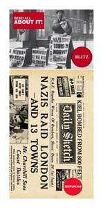 London Blitz Replica Newspaper