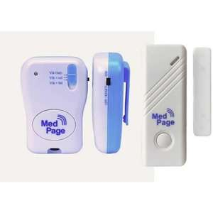 MedPage Door Alarm with Pager  - Complete MPPL Kit