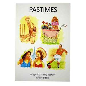 Pastimes Reminiscence Book