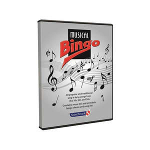 Musical Bingo Game & CD