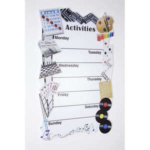 Weekly Activity Board for Care Homes