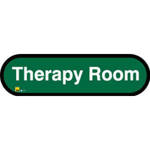 Therapy Room Sign inGreen