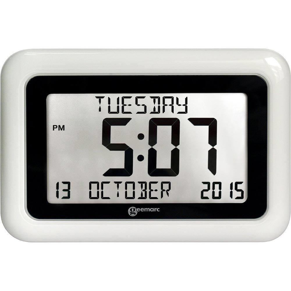 Dementia Clock Calendar Clock For Dementia Calendar Clock For Seniors Alzproducts