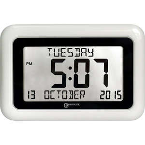 Geemarc Viso10 Radio Controlled Calendar Clock