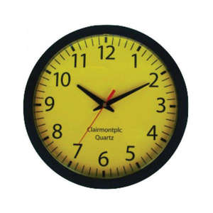 Low Vision Yellow Clock