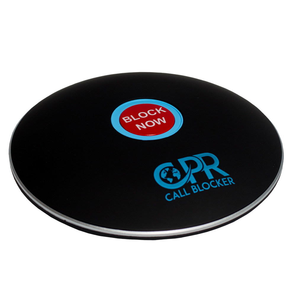 CPR Call Blocker Shield - Matt Black